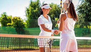 Salakos teniszpályák egész évben